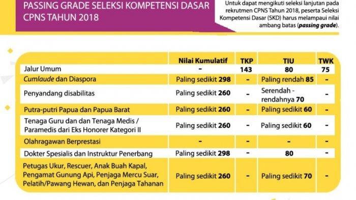 Pemerintah Tegaskan Tak Akan Menurunkan Passing Grade SKD CPNS 2018, Apa Opsi yang Dipilih?