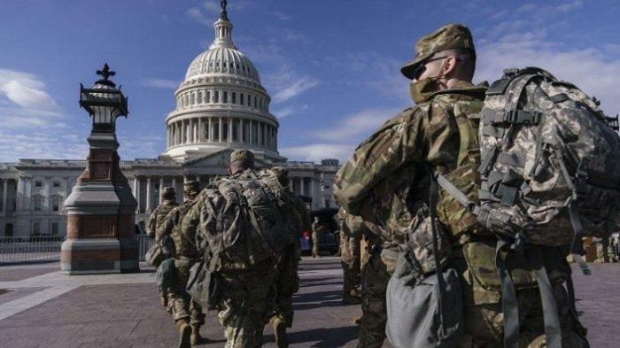 Khawatirkan Serangan Orang Dalam, FBI Periksa Pasukan Pengawal Pelantikan Joe Biden