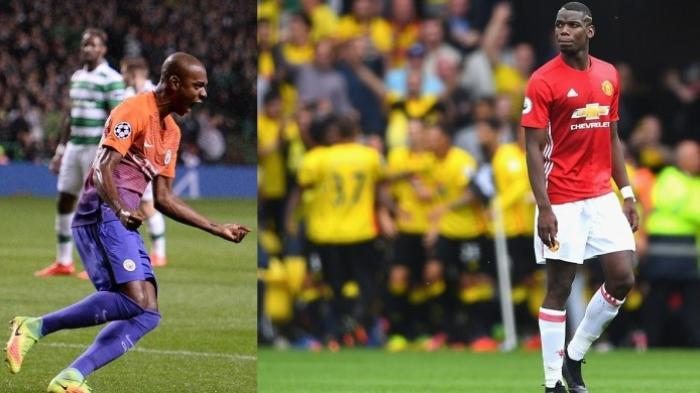 Titik Balik Fernandinho dan Paul Pogba Saat Duel Derbi Manchester