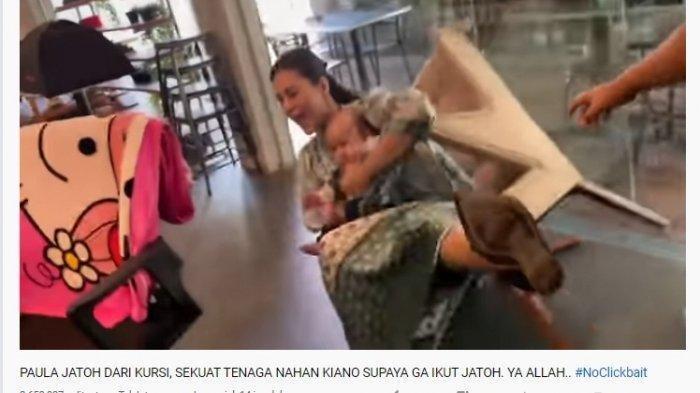 Kiano Tiger Wong Sempat Demam Usai Jatuh dari Kursi, Paula: Dia Kaget