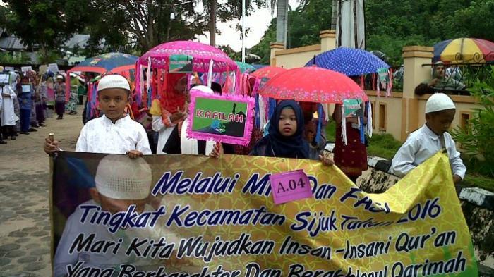 Sijuk Tuan Rumah MTQ dan FASI Kabupaten Belitung 2016
