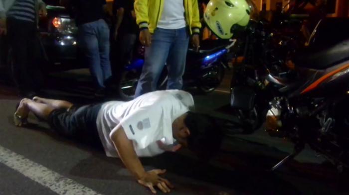 Bikin Ngakak! Ini Jawaban Pembalap Liar Ketika Ditanya STNK Oleh Polisi