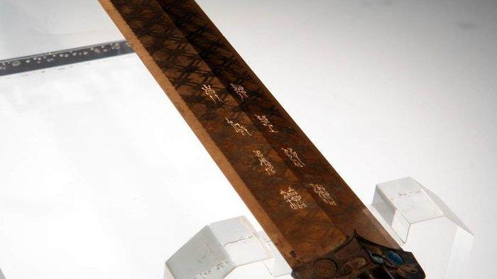 Ketajaman Pedang China Kuno Goujian Seakan Melawan Waktu