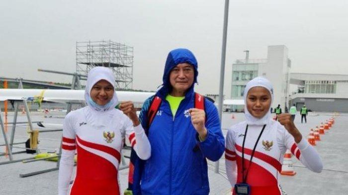 Lolos Kualifikasi, Atlet Dayung Indonesia Mutiara Rahma Putri dan Melani Putri ke Olimpiade Tokyo