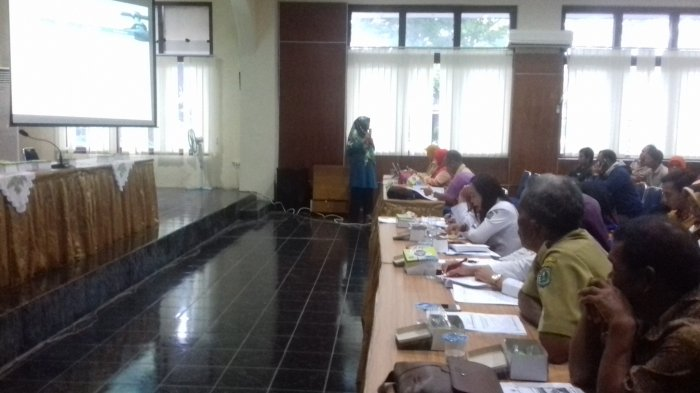 Puluhan Perangkat Desa di Belitung Dengarkan Sosialisasi Pamsimas, Ini Harapan Kepala Bappeda