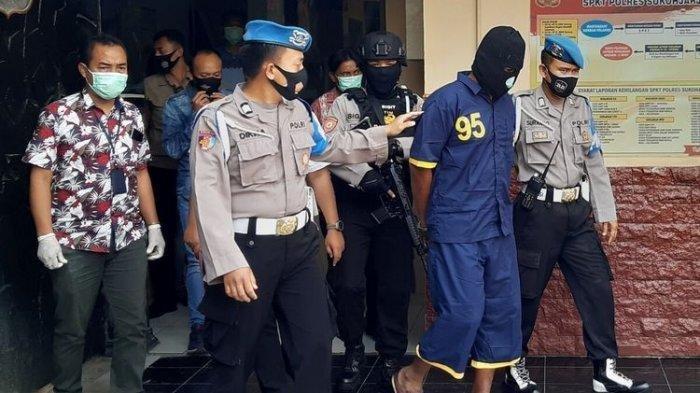 Kisah Eko Pelaku Pembakaran Wanita Kerabat Presiden Jokowi, Kaki Ikut Terbakar Jalan Pincang 1 Km
