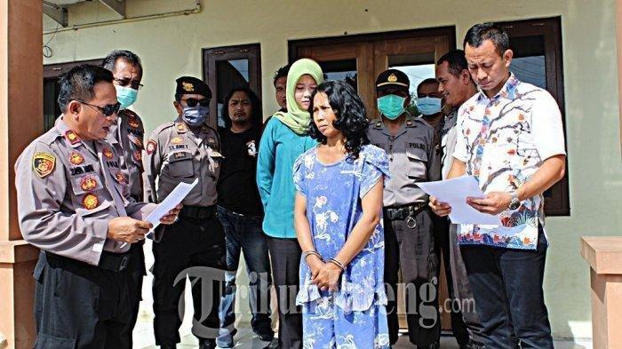 Terdesak Utang di Bank Titil, Seorang Wanita di Semarang Nekat Curi Tabung Elpiji, Terekam CCTV