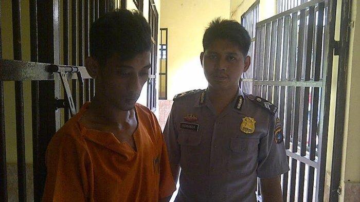 Polisi Polres Belitung Ciduk Pelaku Pencurian Uang Tunai