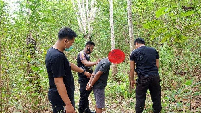 Aparat kepolisian dari Polsek Lubuk Besar mengamankan pelaku persetubuhan anak dibawah umur di Lubuk Besar, Kabupaten Bangka Tengah.