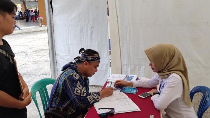 Pelamar Job Fair Festival Tanjung Kelayang Mulai dari Lulusan SMA hingga S1