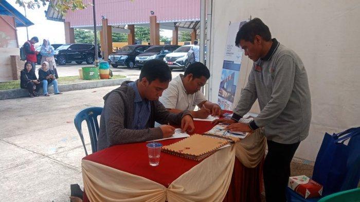Pelamar di Job Fair Festival Tanjung Kelayang Tembus Capai 838 Orang