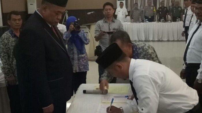 Pelantikan PPK dan PPS, Ketua KPU Belitung: Kami Meyakini Sumpah dan Janji Dijalankan Sepenuh Hati