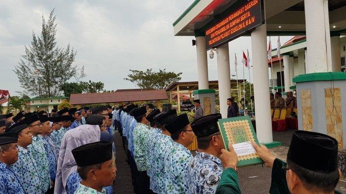 Yuslih Berharap Pejabat yang Dilantik Hari Ini Berkontribusi untuk Beltim