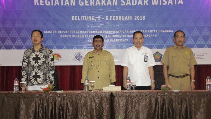 Belitung Pilot Projetc Kesiapan SDM Pariwisata