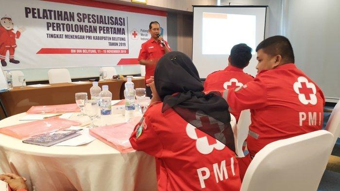 PMI Gelar Pelatihan Spesialisasi Pertolongan Pertama