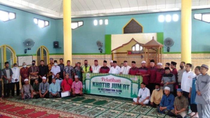 Pengurus Masjid Al Huda Air Seruk Gelar Pelatihan Khatib Jumat se-Kecamatan Sijuk