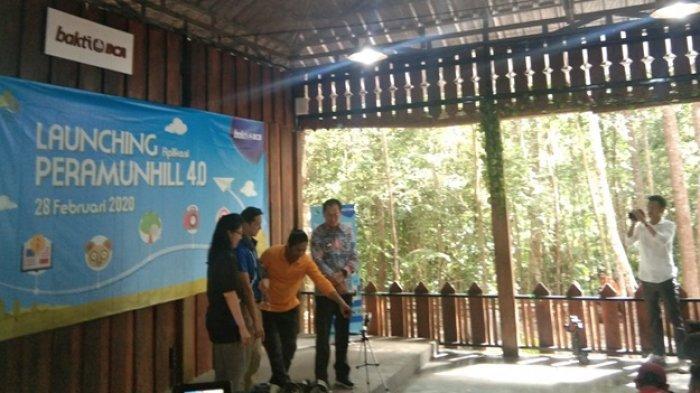 BCA Luncurkan Aplikasi Peramun Hill Virtual Guide Bukit Peramun Belitung,Bisa Download di Play Store