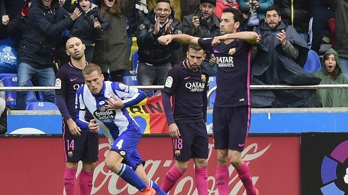 Real Madrid Kembali ke Puncak Usai Barcelona Dikalahkan Deportivo La Coruna