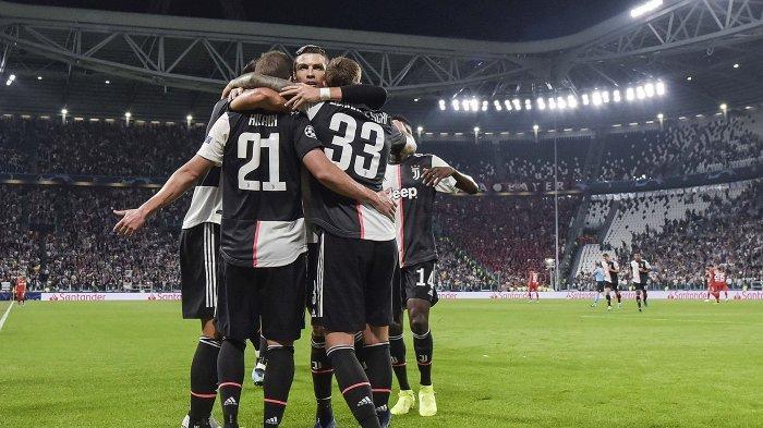 Hasil Liga Champions, Juventus Pesta Gol, Cristiano Ronaldo Tinggalkan Lionel Messi