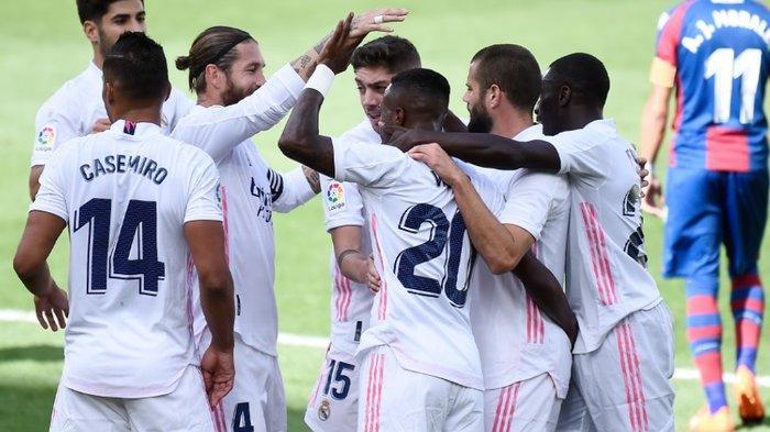 Eibar Vs Real Madrid, Misi Los Blancos Libas Tim 5 Kali Tak Terkalahkan untuk 4 Kemenangan Beruntun