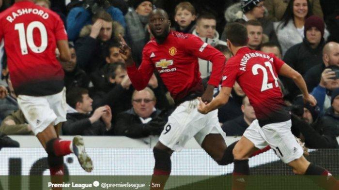 Manchester United Buntu, Romelu Lukaku Masuk Baru 1 Menit Jebol Gawang Newcastle