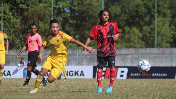 Babak Pertama Sriwijaya FC Unggul 3-0 Berhadapan dengan PS Bangka Selection