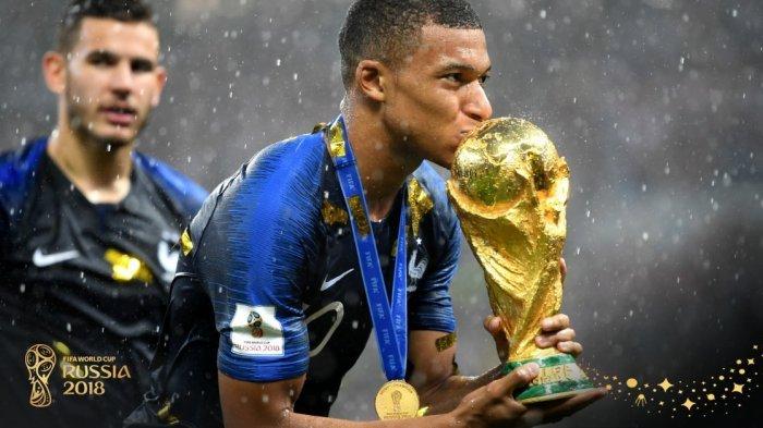 Piala Dunia 2018 - Timnas Perancis Raih Hadiah Rp 513 Miliar, Kroasia Berhak Rp 378 Miliar