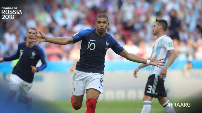 Uruguay vs Prancis, 'Tarian' Griezmann dan Mbappe Jadi Perhatian