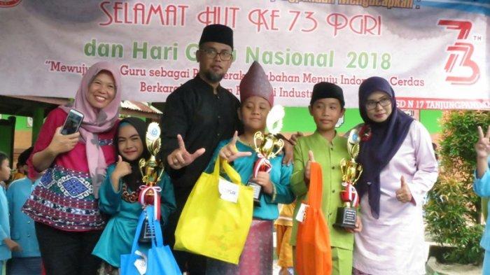 Peringati Hari Guru, SDN 17 Tanjungpandan Adakan Lomba Mewarnai Hingga Ngenjungak