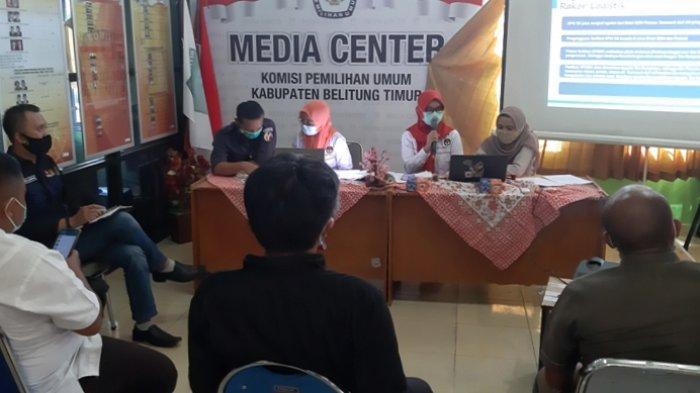 Ini APK dan Bahan Kampanye Difasilitasi KPU Belitung Timur, SeginiLaporan Awal Dana Kedua Paslon