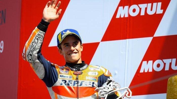Sesali Kecelakaan Hebat yang Dialami Rivalnya, Marc Marquez Berharap Andrea Dovizioso Kembali Pulih