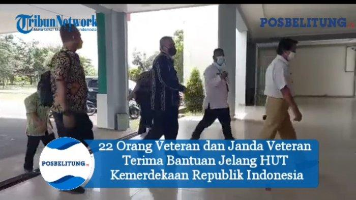 22 Veteran dan Janda Veteran Terima Bantuan Jelang HUT Republik Indonesia