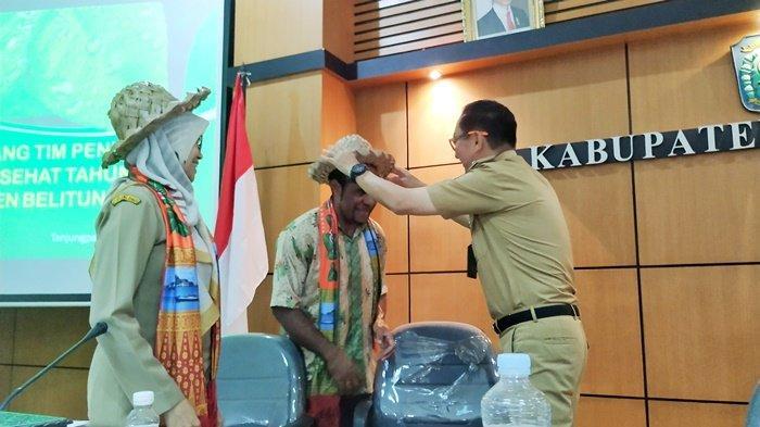 Tim Penilai Kabupaten/Kota Sehat dari Kemendagri Lakukan Survei Lapangan di Belitung