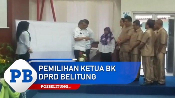 Ini Hasil Voting Pemilihan Ketua BK DPRD Kabupaten Belitung Periode 2019 - 2024