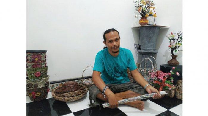 Sederet Kerajinan dari Bahan Buangan Jadi Cinderamata Belitung, Manfaatkan Botol hingga Koran Bekas