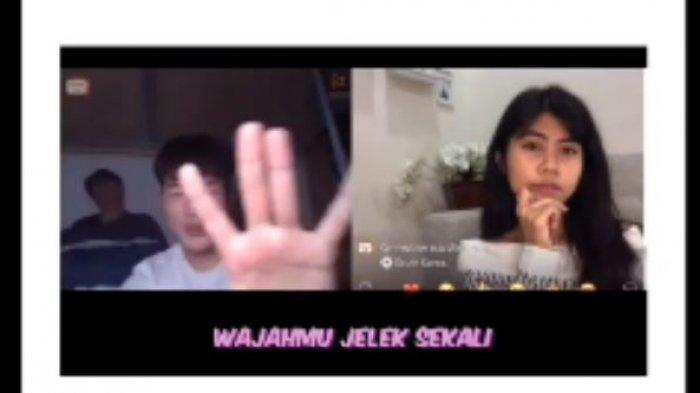 Video Viral Pemuda Korea Rasis Sebut Wanita Indonesia Jelek