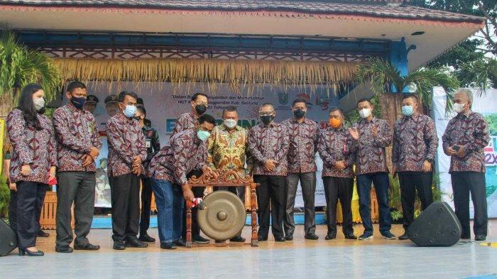 Geliatkan Ekonomi Belitung di Masa Pandemi, Bupati Belitung Buka Belitung Expo 2021