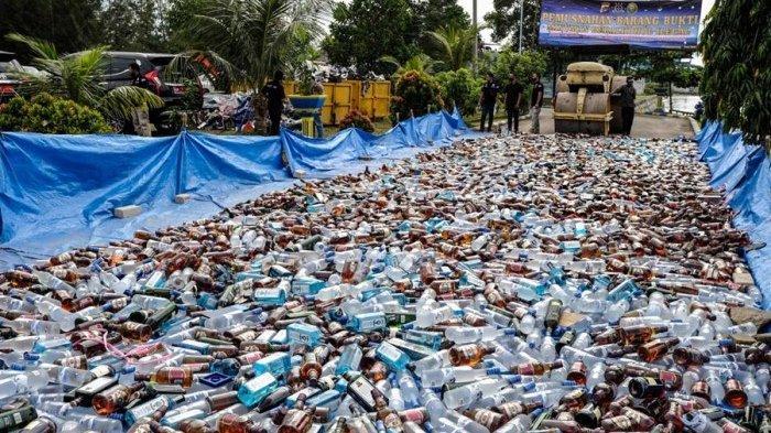 DPR Bahas RUU Larangan Minuman Beralkohol, Ada Ancaman Penjara 2 Tahun Denda Rp 1 Miliar
