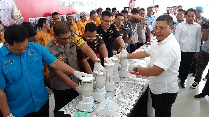 Pulau Belitung Terindikasi Jadi Perlintasan Peredaran Narkoba Internasional