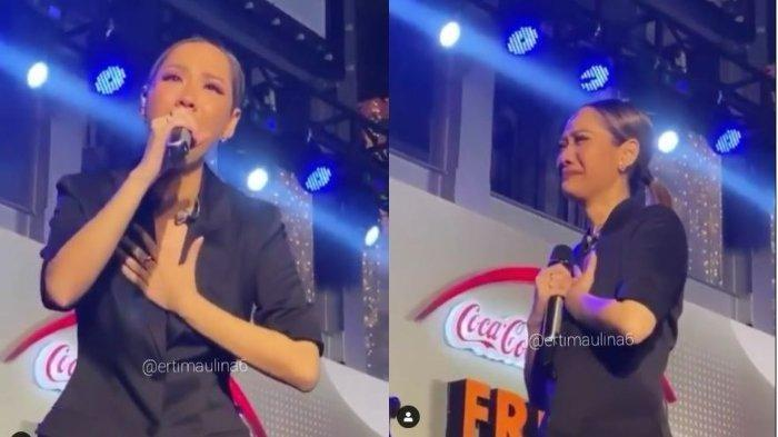 BCL Bergetar Ucap 'Kirim Aku Malaikatmu' saat Nyanyi Lagu Aku Tak Mau Sendiri setelah Ashraf Tiada