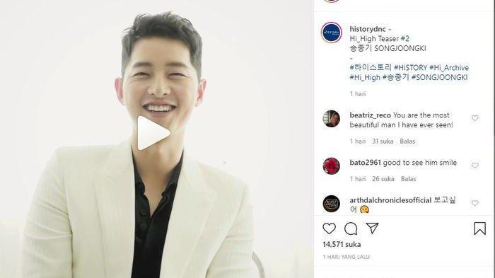 Ganti Gaya Rambut, Penampilan Terbaru Song Joong Ki Usai Dirumorkan Pacaran Dengan Pengacara!