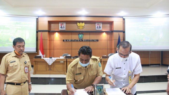 Reforma Agraria, Seluruh Tanah di Belitung Harus Punya Sertifikat