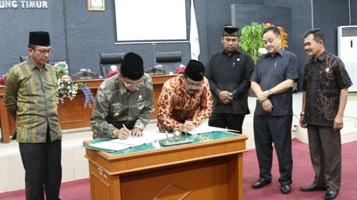 Seluruh Fraksi Setujui Empat Raperda Kabupaten Belitung Timur