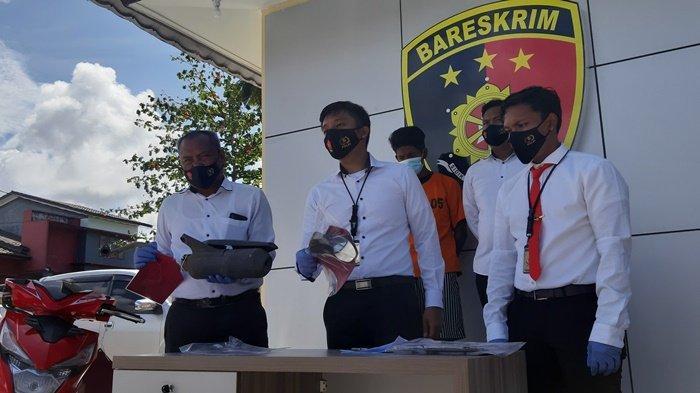 Remaja 18 Tahun Curi Motor untuk Berangkat Kerja, Kelabui Polisi Lepas Spion dan Plat Nomor
