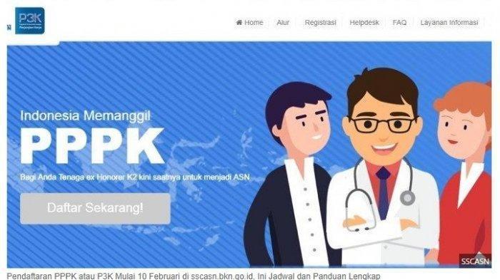 Wajib Cek, Ini Kendala & Solusi Pendaftaran PPPK 2019 atau P3K via sscasn.bkn.go.id