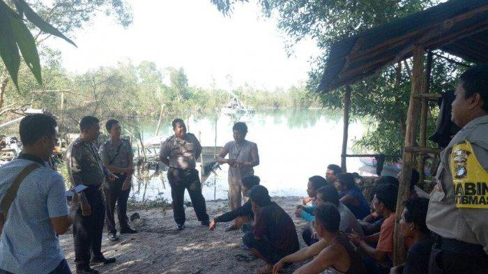Polisi Deadline Aktivitas TI Rajuk di Desa Lenggang Hingga Besok