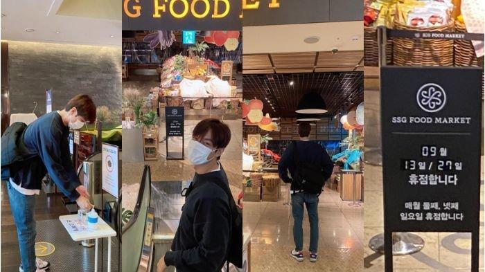 Lee Min Ho Bagikan Momen Kocak Saat Berbelanja di Supermarket, Bikin Netizen Tertawa Melihatnya!