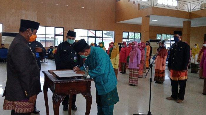 Ini Instruksi Bupati Belitung Kepada Kepsek yang Baru Dilantik, Harus Bergerak Cepat