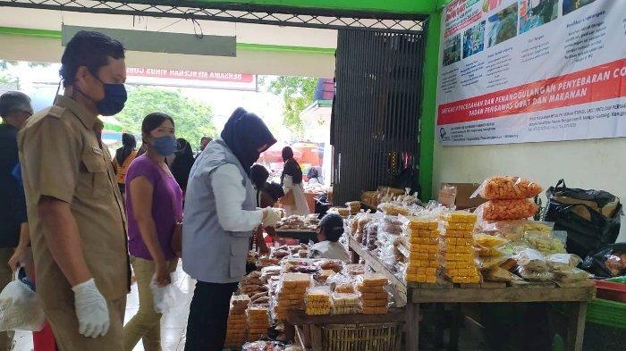 Jelang Lebaran Loka POM Belitung Awasi Makanan di Pasar Manggar dan Pasar Gantung