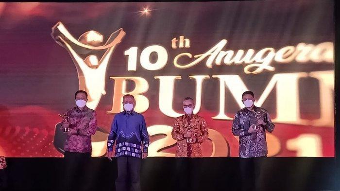 Tunjukkan Kinerja Unggul, JICT Raih Penghargaan Anugerah BUMN Award 2021
